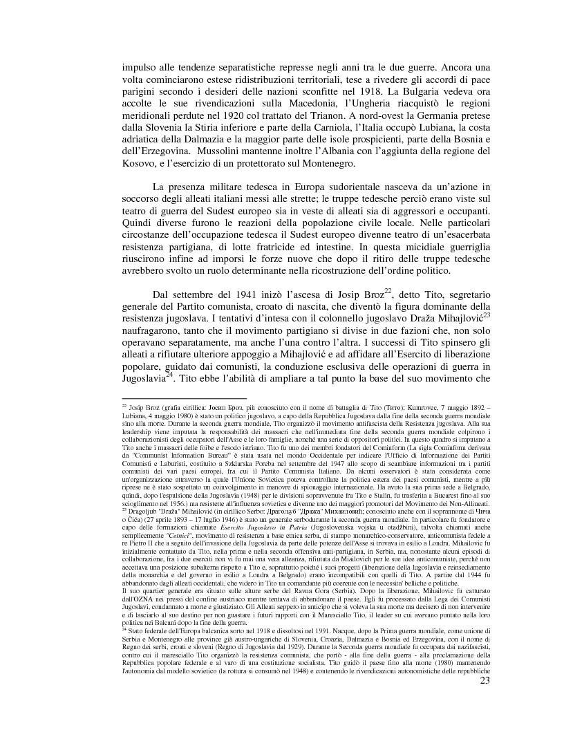 Anteprima della tesi: Kosovo. Alla scoperta di cosa celano le ceneri della guerra., Pagina 12