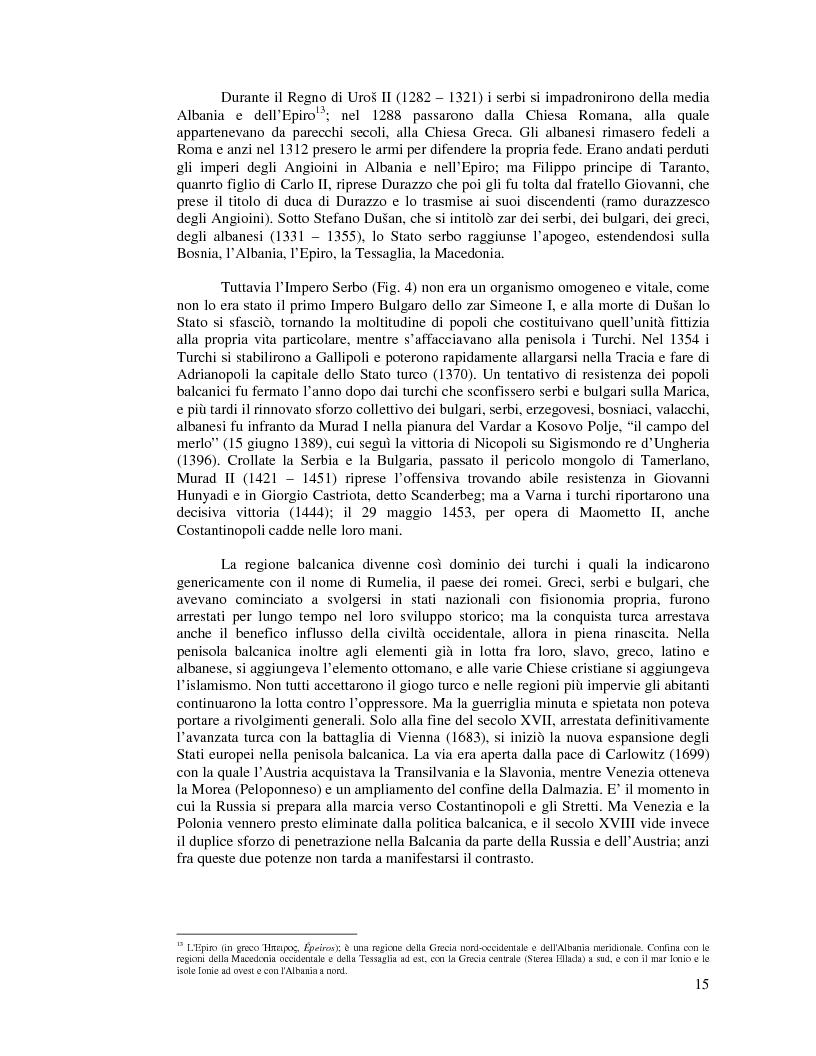 Anteprima della tesi: Kosovo. Alla scoperta di cosa celano le ceneri della guerra., Pagina 4