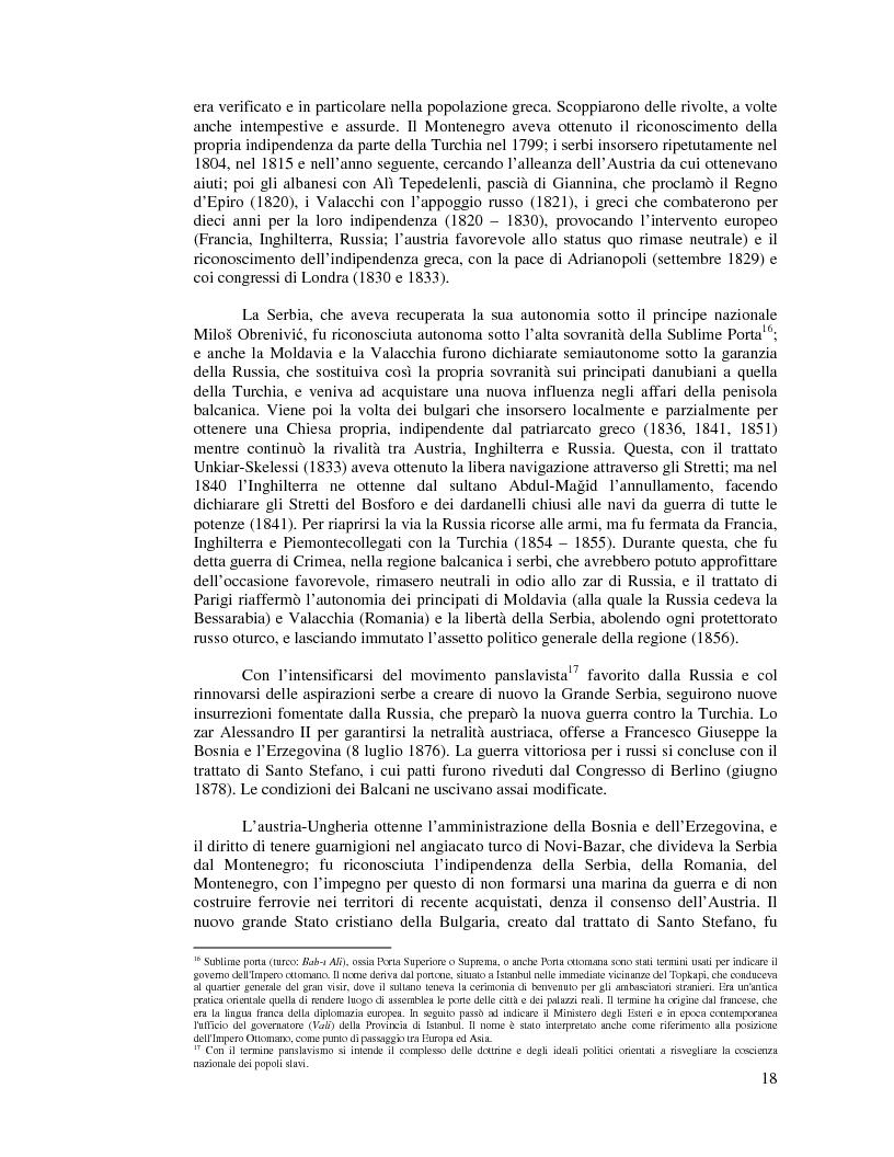 Anteprima della tesi: Kosovo. Alla scoperta di cosa celano le ceneri della guerra., Pagina 7