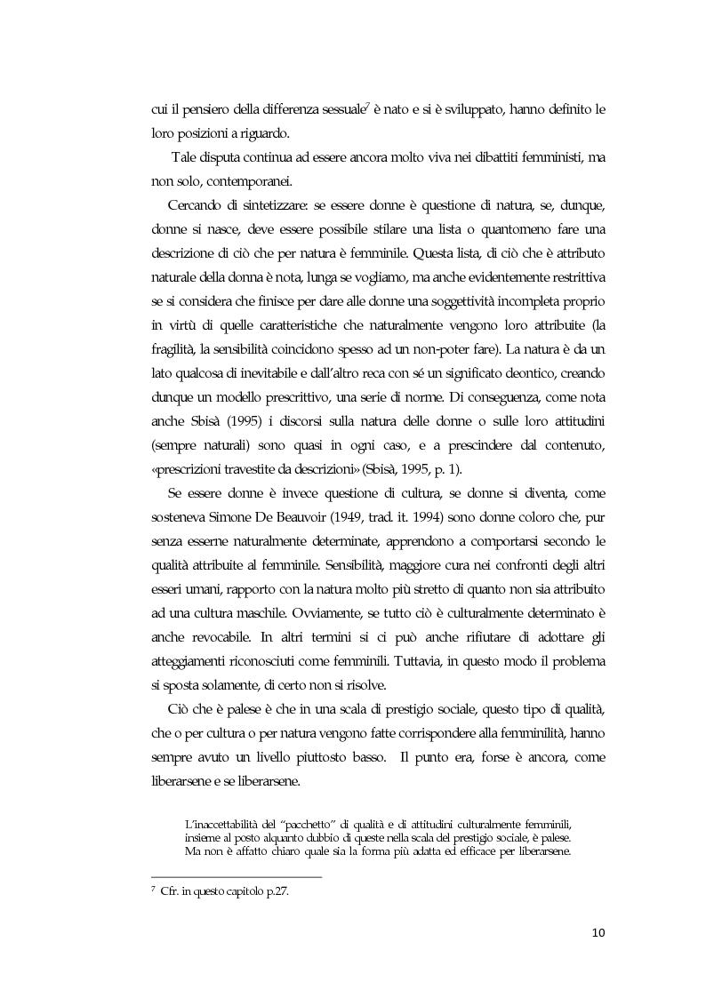 Anteprima della tesi: La comunicazione mediatica delle donne in politica: quali spazi e quali linguaggi, Pagina 6