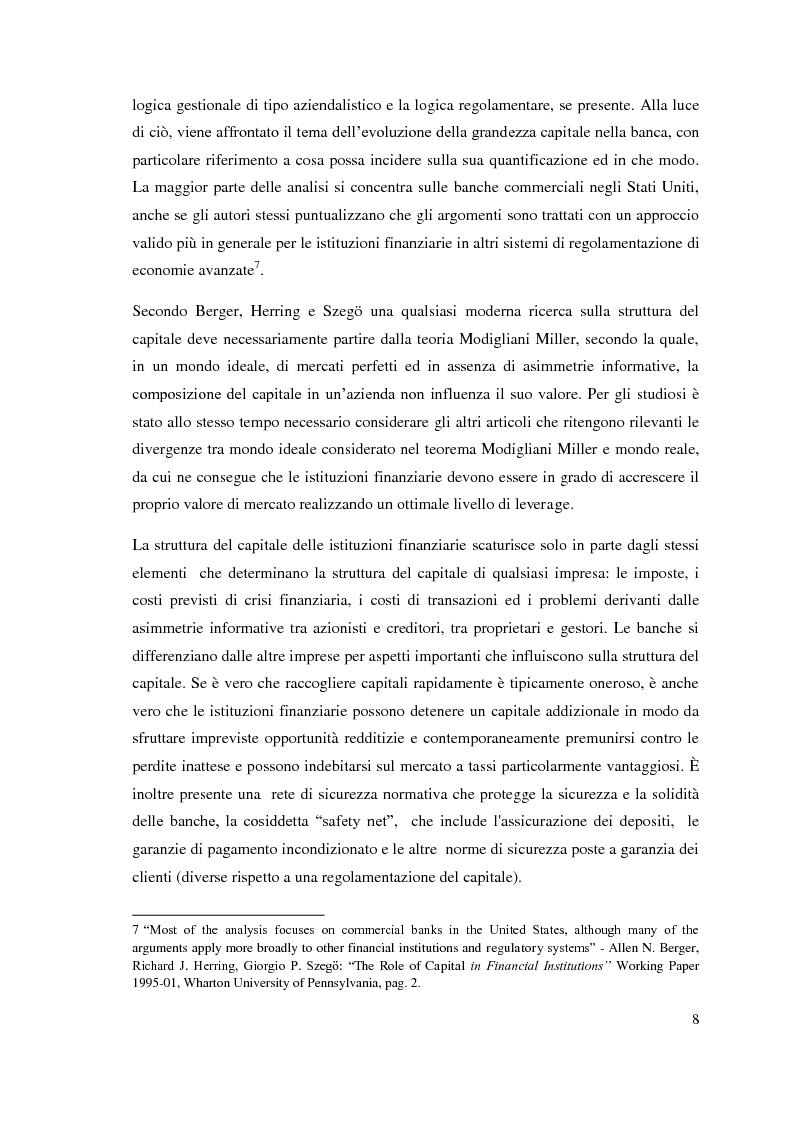 Anteprima della tesi: L'adeguatezza patrimoniale del sistema bancario tra crisi e Basilea 3, Pagina 13