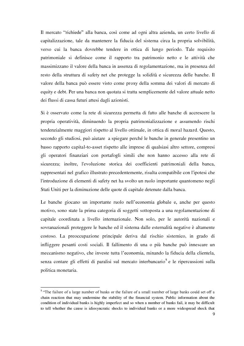Anteprima della tesi: L'adeguatezza patrimoniale del sistema bancario tra crisi e Basilea 3, Pagina 14