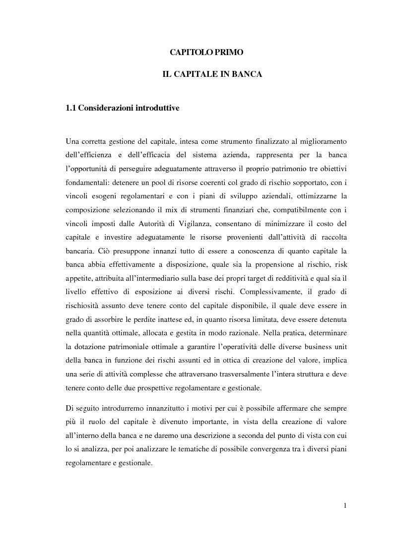 Anteprima della tesi: L'adeguatezza patrimoniale del sistema bancario tra crisi e Basilea 3, Pagina 6
