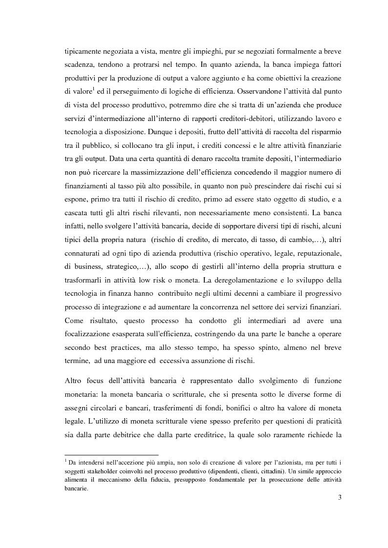 Anteprima della tesi: L'adeguatezza patrimoniale del sistema bancario tra crisi e Basilea 3, Pagina 8