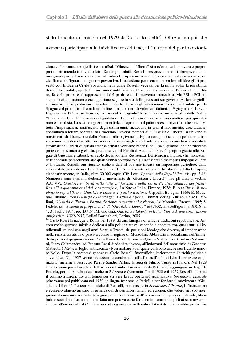 Anteprima della tesi: Istituzioni, opinione pubblica e stampa nella transizione tra Monarchia e Repubblica, Pagina 12