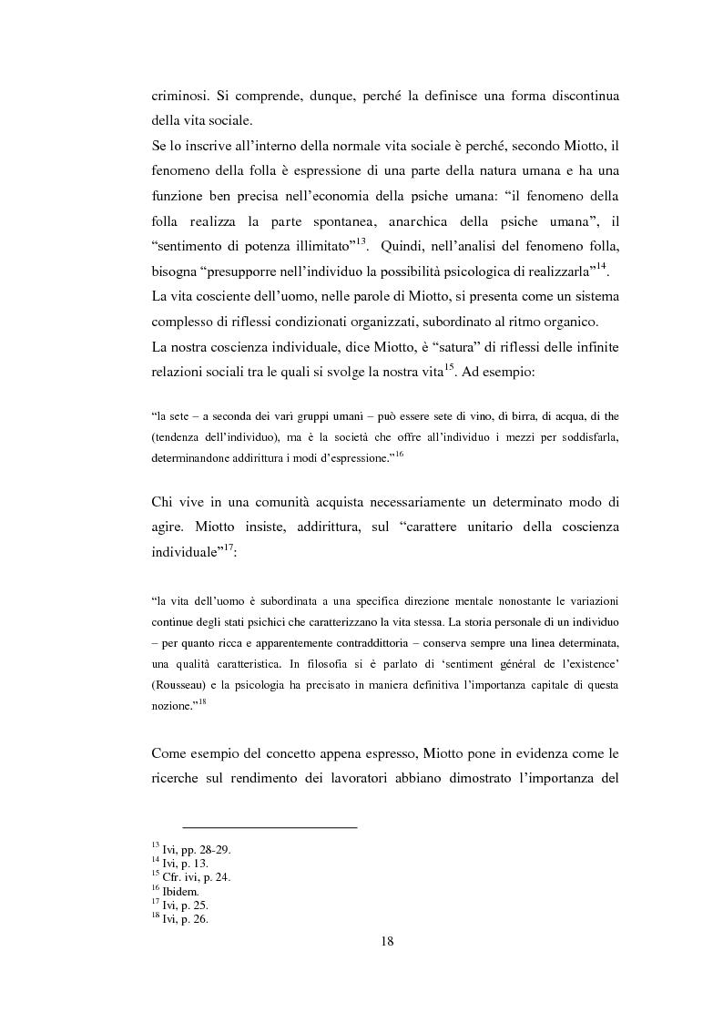 Estratto dalla tesi: Psicologia politica e psicologia sociale in Andrea Devoto (1927-1994)