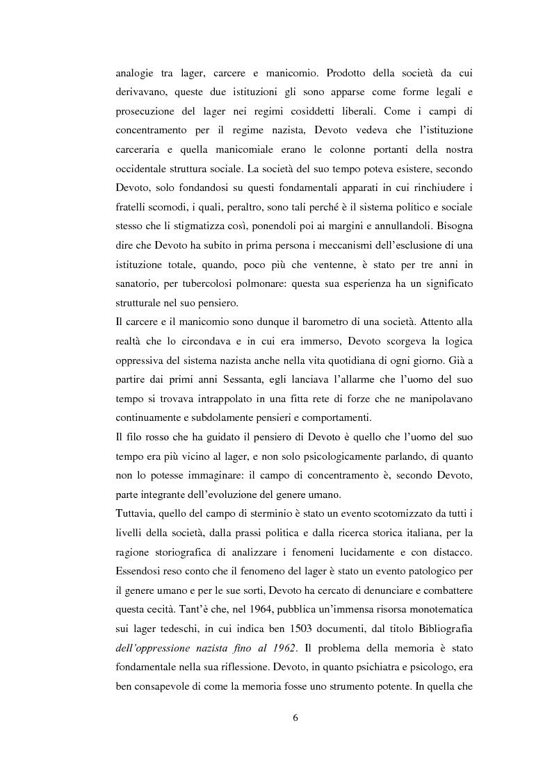 Anteprima della tesi: Psicologia politica e psicologia sociale in Andrea Devoto (1927-1994), Pagina 3