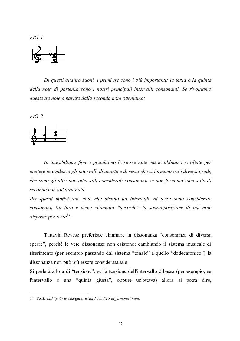 Anteprima della tesi: L'apprendimento della musica nella pedagogia contemporanea., Pagina 12