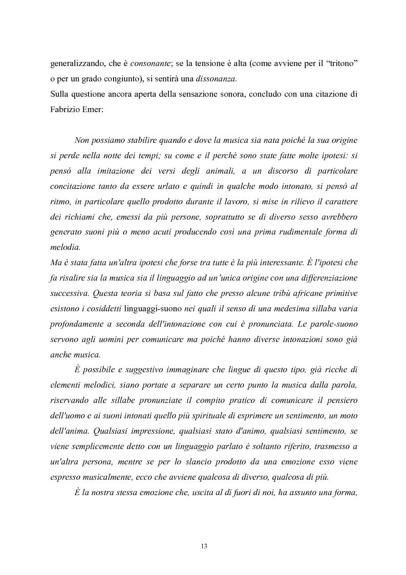 Anteprima della tesi: L'apprendimento della musica nella pedagogia contemporanea., Pagina 13