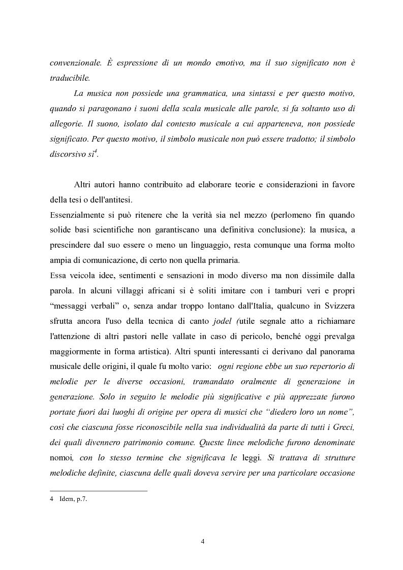 Anteprima della tesi: L'apprendimento della musica nella pedagogia contemporanea., Pagina 4