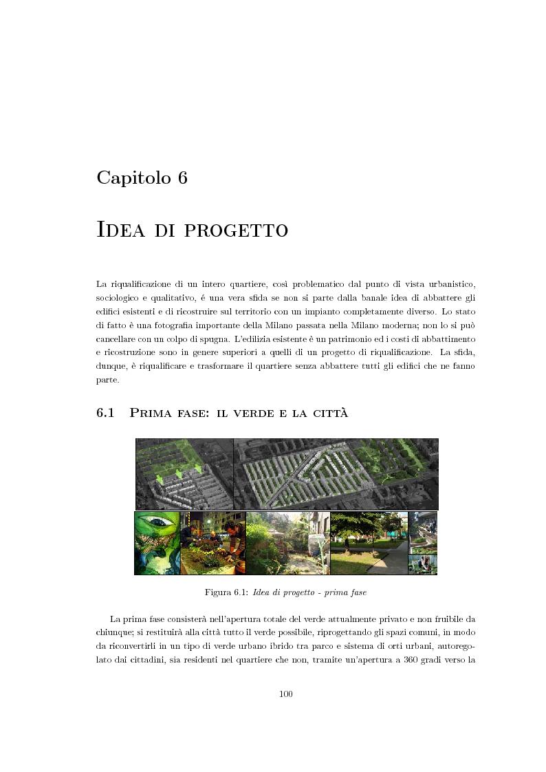Anteprima della tesi: Riqualificazione urbana area ALER, Quartiere Giambellino, Milano, Pagina 10