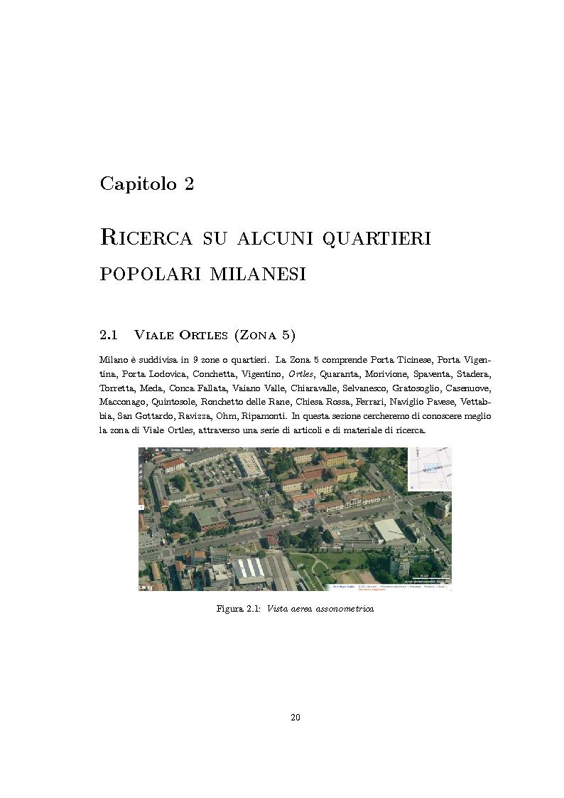Anteprima della tesi: Riqualificazione urbana area ALER, Quartiere Giambellino, Milano, Pagina 6