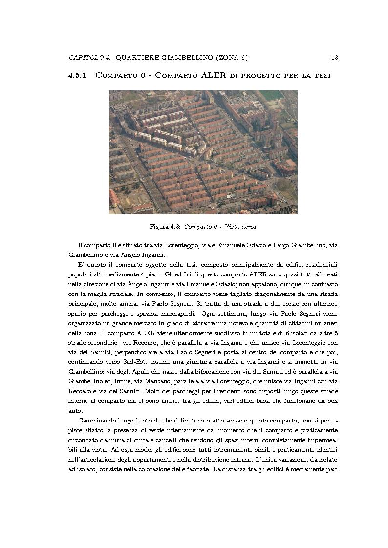 Anteprima della tesi: Riqualificazione urbana area ALER, Quartiere Giambellino, Milano, Pagina 9
