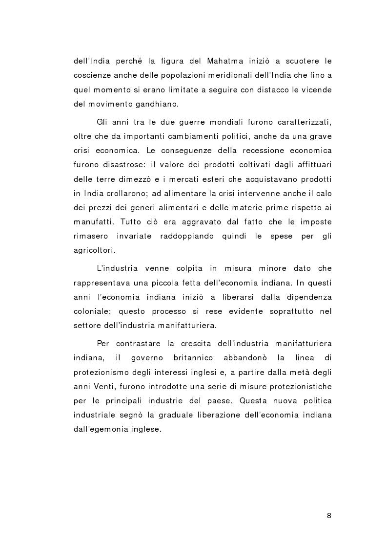 Anteprima della tesi: Il cammino della non violenza: Martin Luther King e Gandhi, Pagina 9