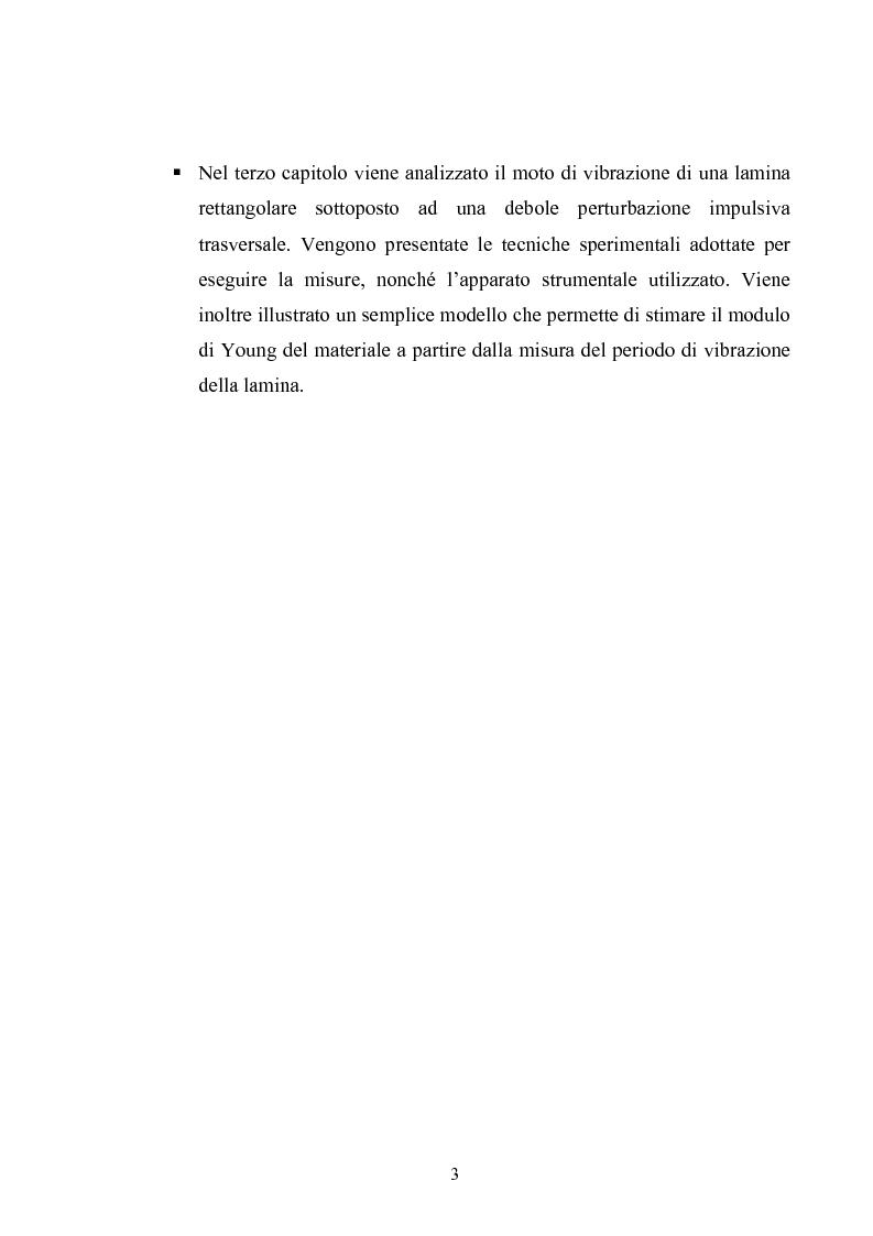 Anteprima della tesi: Misura del modulo di Young tramite interferometria per auto-miscelazione di fase, Pagina 4