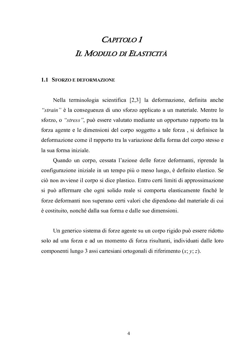 Anteprima della tesi: Misura del modulo di Young tramite interferometria per auto-miscelazione di fase, Pagina 5
