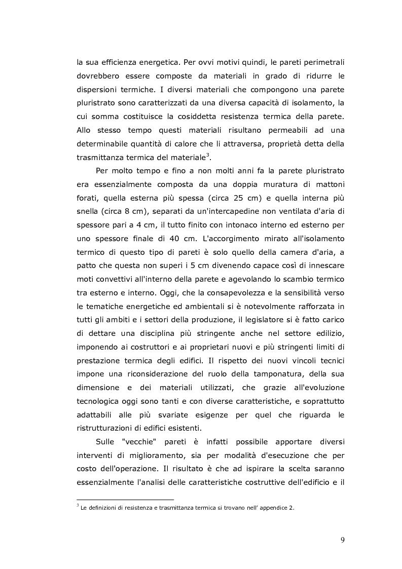 Anteprima della tesi: L'efficienza energetica degli edifici residenziali, Pagina 10