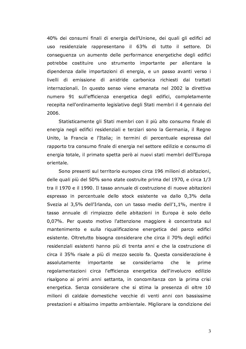 Anteprima della tesi: L'efficienza energetica degli edifici residenziali, Pagina 4