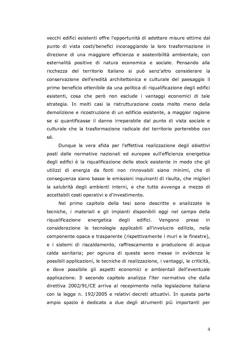 Anteprima della tesi: L'efficienza energetica degli edifici residenziali, Pagina 5