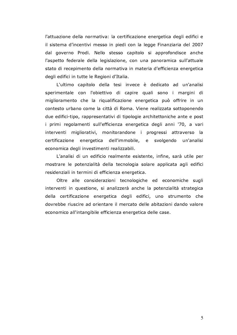 Anteprima della tesi: L'efficienza energetica degli edifici residenziali, Pagina 6