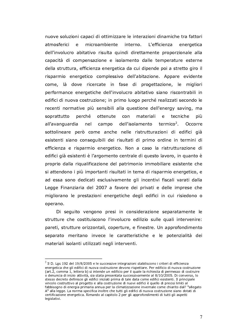 Anteprima della tesi: L'efficienza energetica degli edifici residenziali, Pagina 8