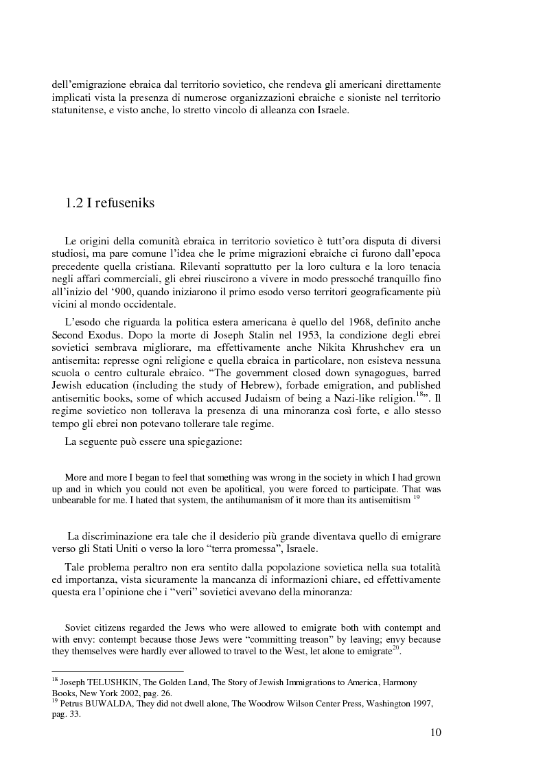 Anteprima della tesi: Politica estera degli Stati Uniti in tema di diritti umani da Nixon a Carter, Pagina 8
