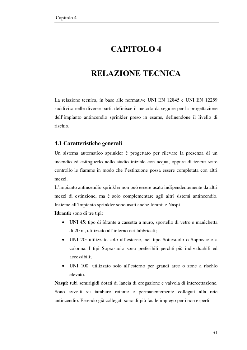 Anteprima della tesi: Impianto antincendio a servizio di un'industria elettronica, Pagina 2