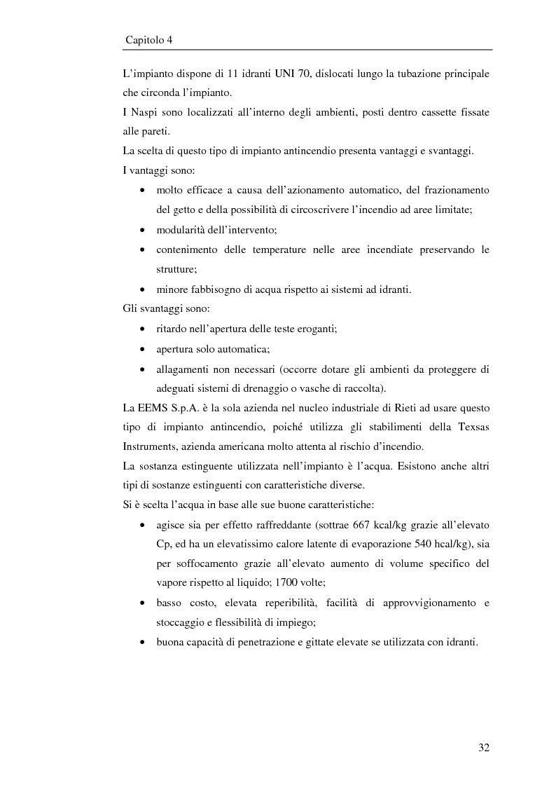 Anteprima della tesi: Impianto antincendio a servizio di un'industria elettronica, Pagina 3