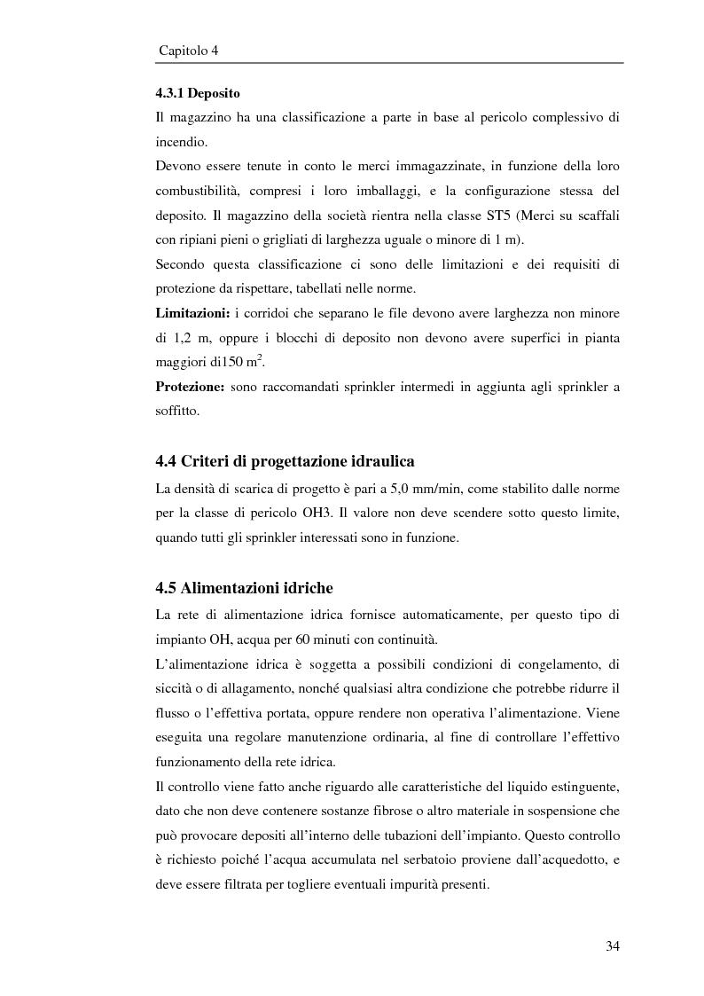 Anteprima della tesi: Impianto antincendio a servizio di un'industria elettronica, Pagina 5