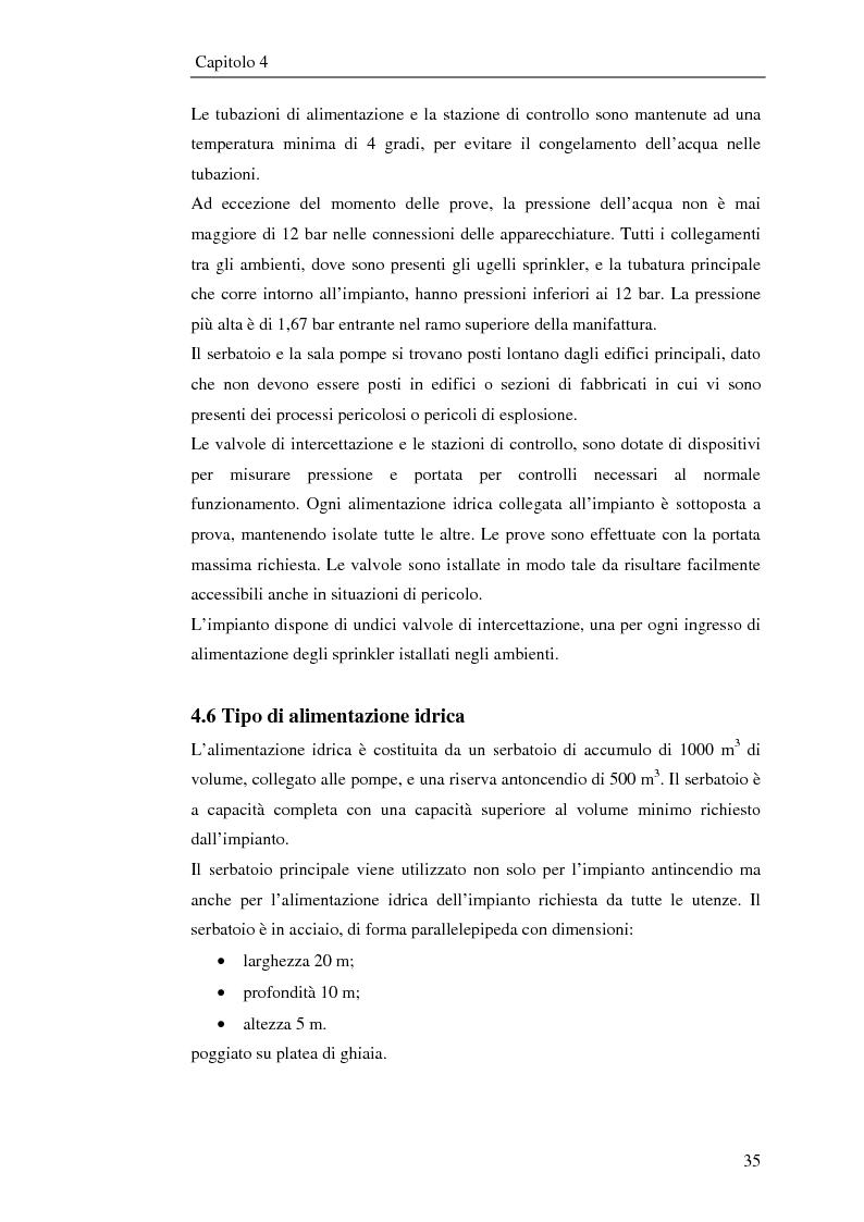 Anteprima della tesi: Impianto antincendio a servizio di un'industria elettronica, Pagina 6
