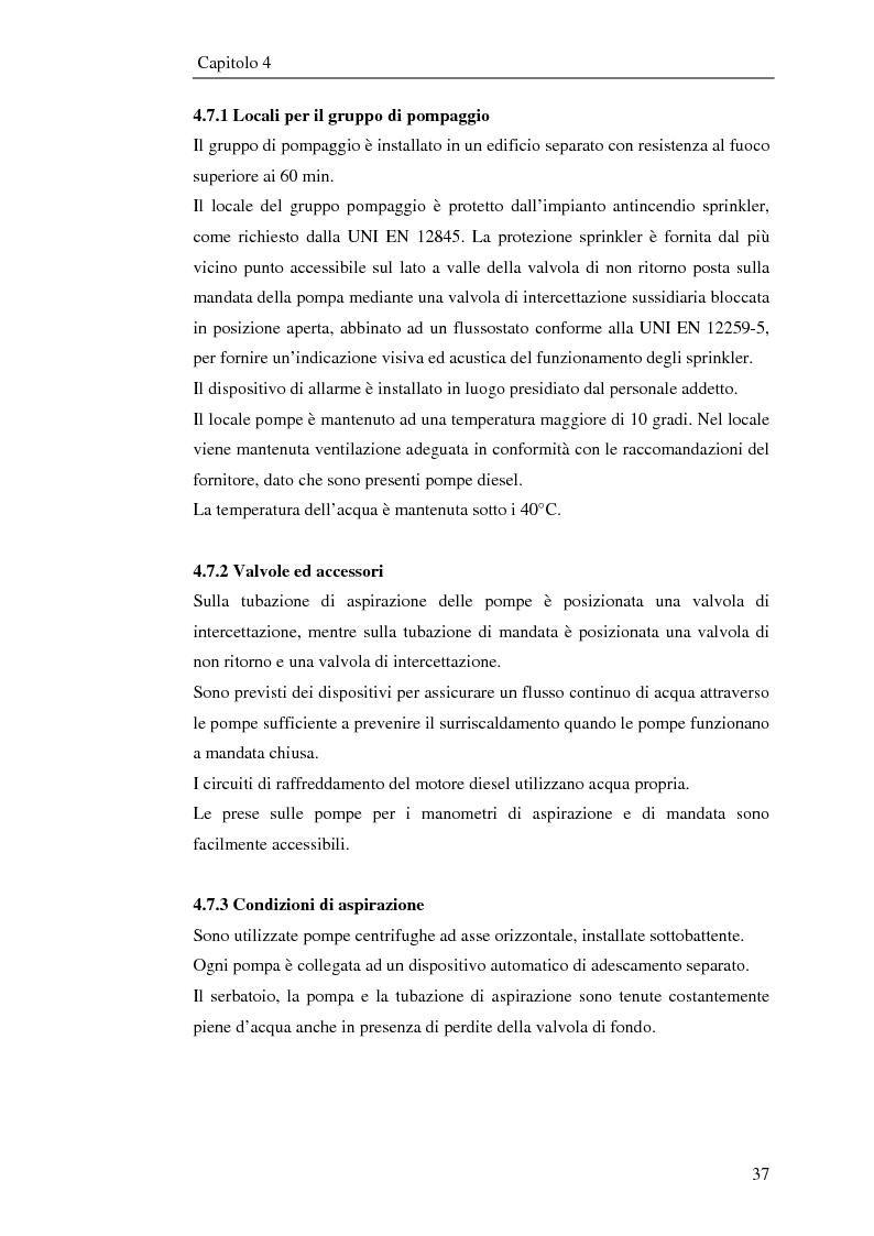 Anteprima della tesi: Impianto antincendio a servizio di un'industria elettronica, Pagina 8