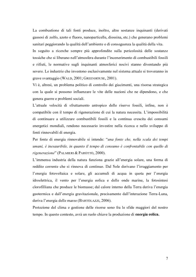 Anteprima della tesi: Analisi ambientale per la realizzazione di un campo eolico offshore nel Golfo di Manfredonia (FG), Pagina 4