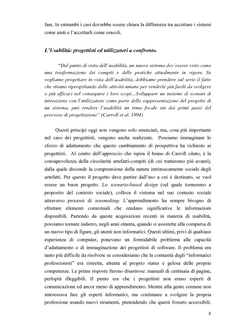 Anteprima della tesi: Aspetti cognitivi e culturali dell'interazione uomo-Internet, Pagina 5