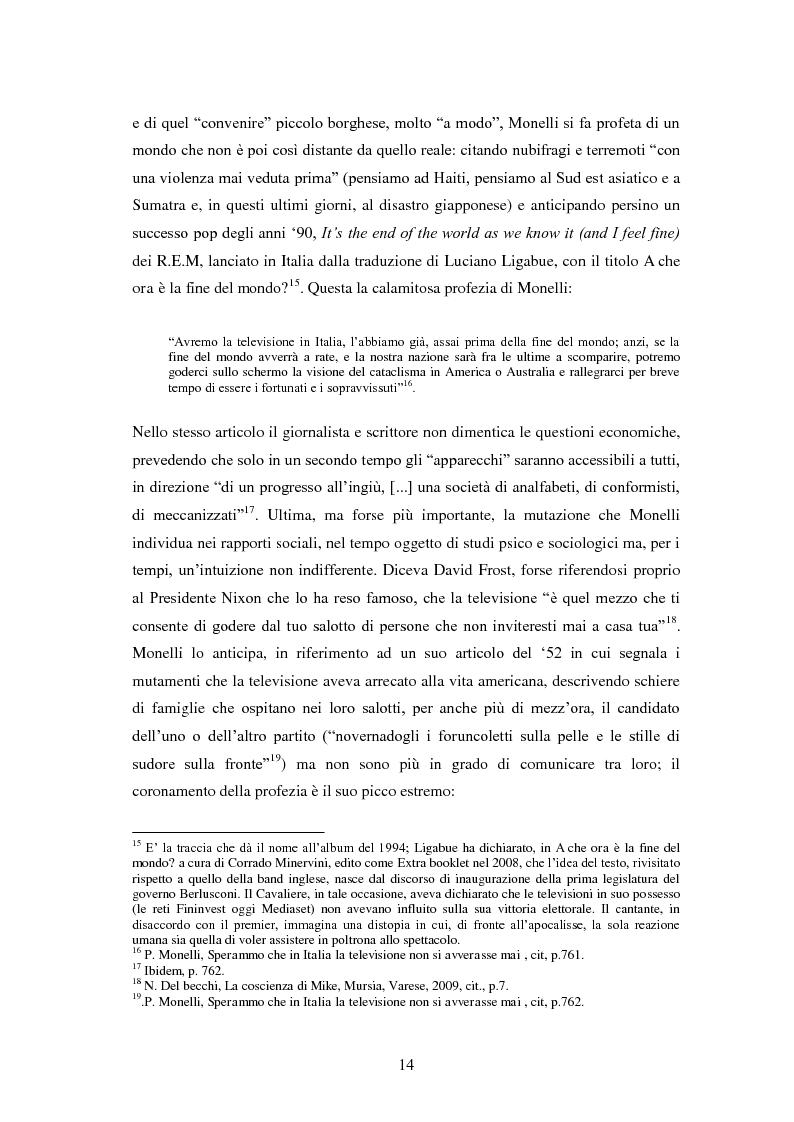 Anteprima della tesi: Le grandi firme della critica televisiva in Italia 1954-2000, Pagina 11