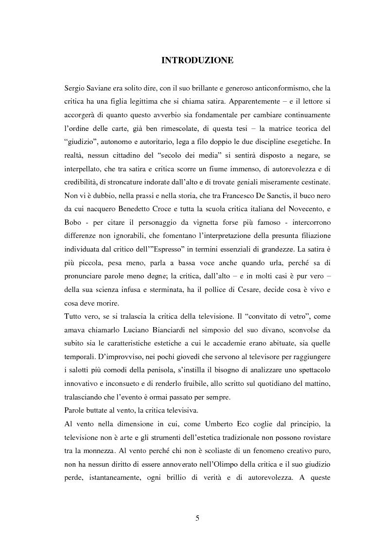 Anteprima della tesi: Le grandi firme della critica televisiva in Italia 1954-2000, Pagina 2