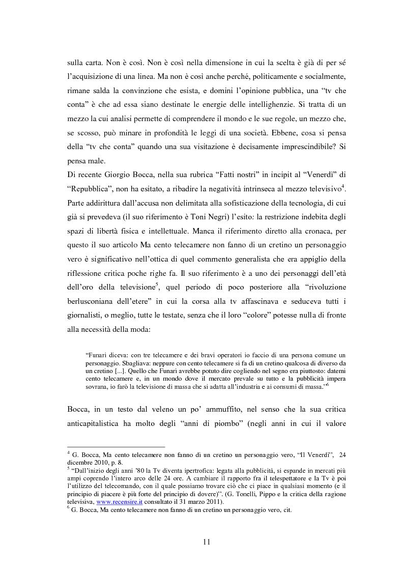 Anteprima della tesi: Le grandi firme della critica televisiva in Italia 1954-2000, Pagina 8