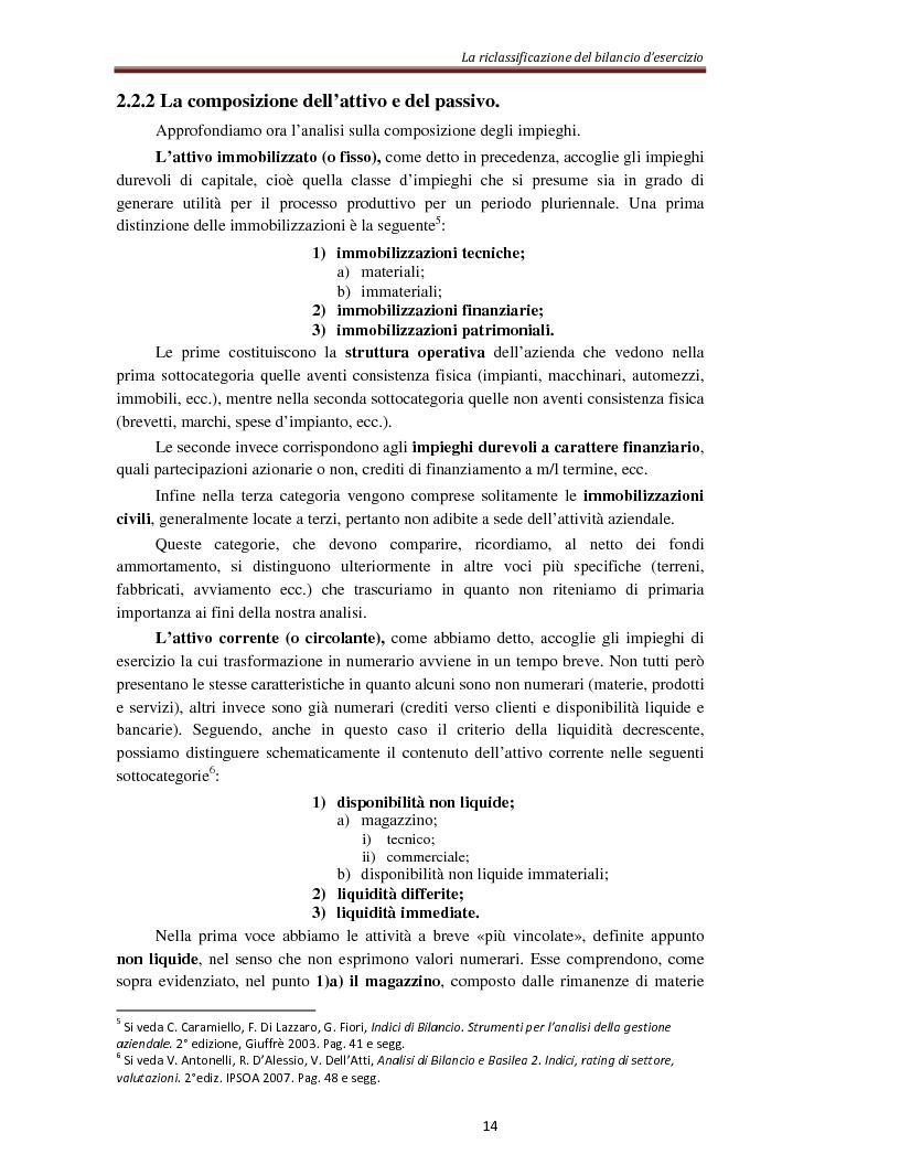 Anteprima della tesi: L'analisi per indici nella determinazione del rating bancario, Pagina 7