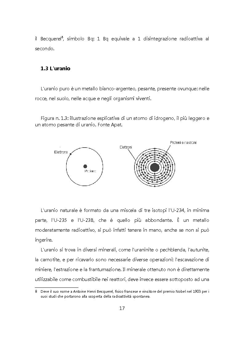 Anteprima della tesi: Chiudere il ciclo: rifiuti nucleari in Italia, Pagina 10