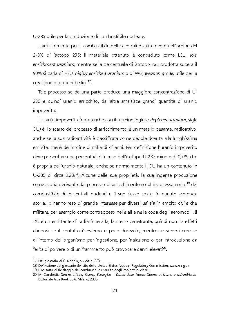 Anteprima della tesi: Chiudere il ciclo: rifiuti nucleari in Italia, Pagina 14