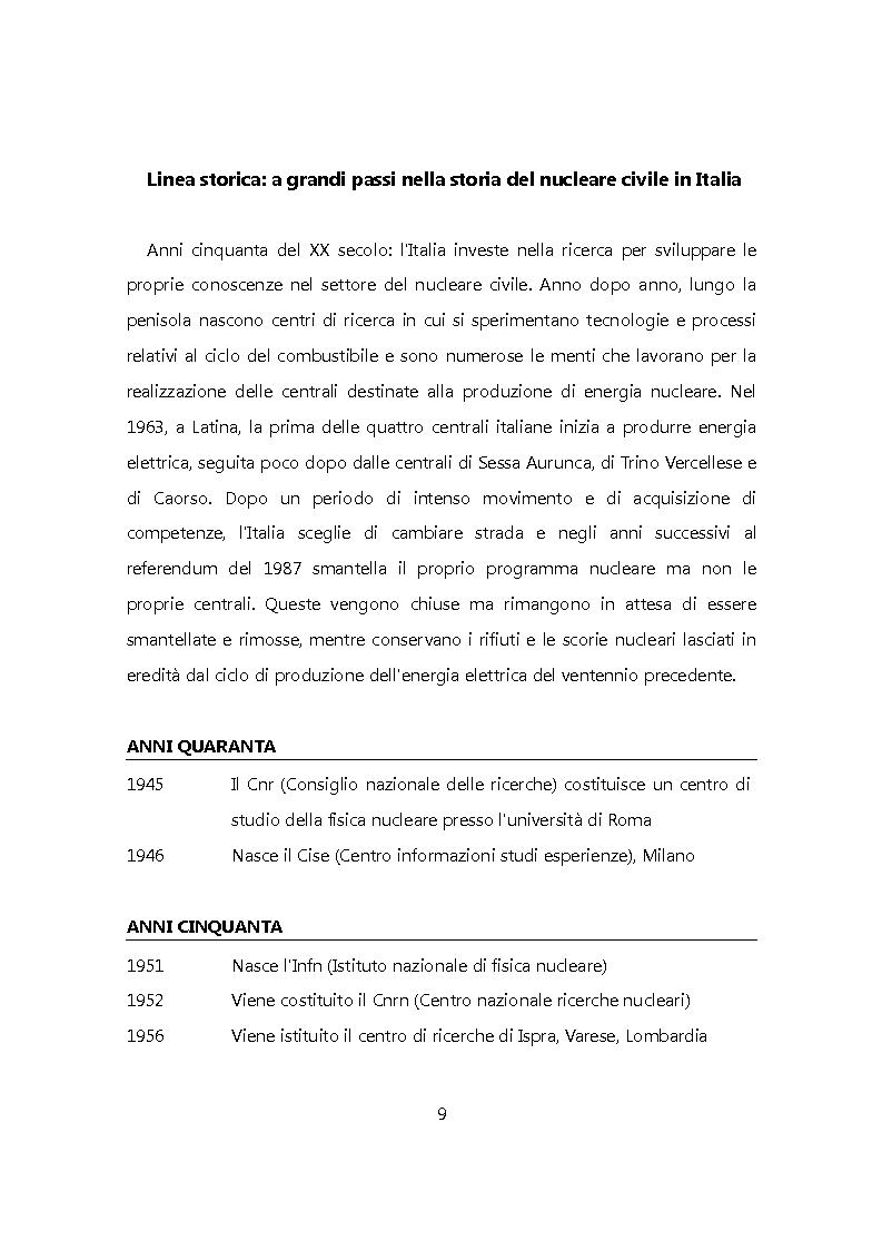 Anteprima della tesi: Chiudere il ciclo: rifiuti nucleari in Italia, Pagina 2