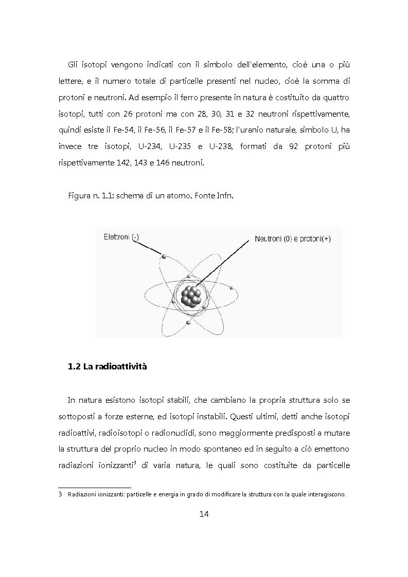 Anteprima della tesi: Chiudere il ciclo: rifiuti nucleari in Italia, Pagina 7