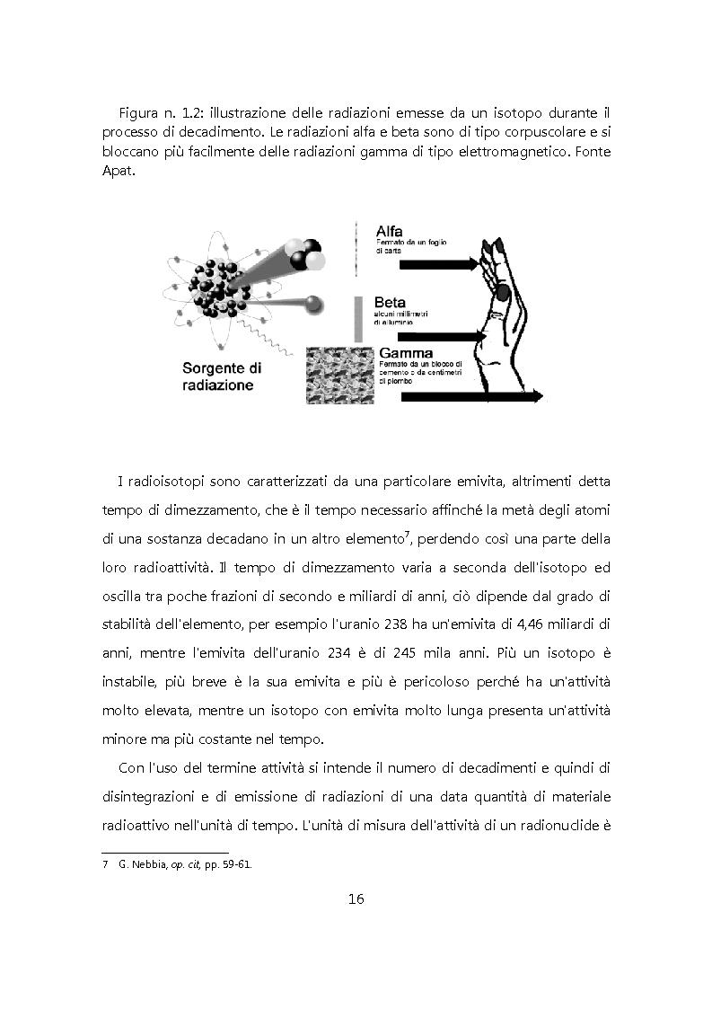 Anteprima della tesi: Chiudere il ciclo: rifiuti nucleari in Italia, Pagina 9