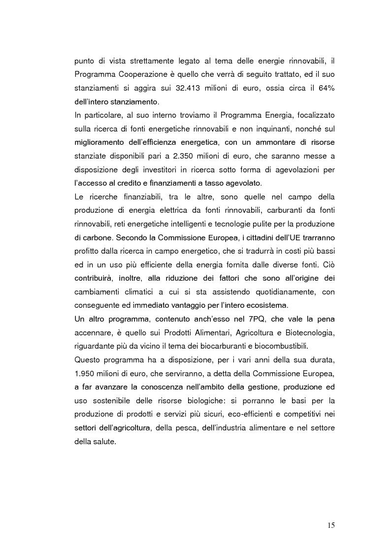 Anteprima della tesi: Le agevolazioni fiscali per l'utilizzo delle fonti energetiche rinnovabili in Italia., Pagina 8