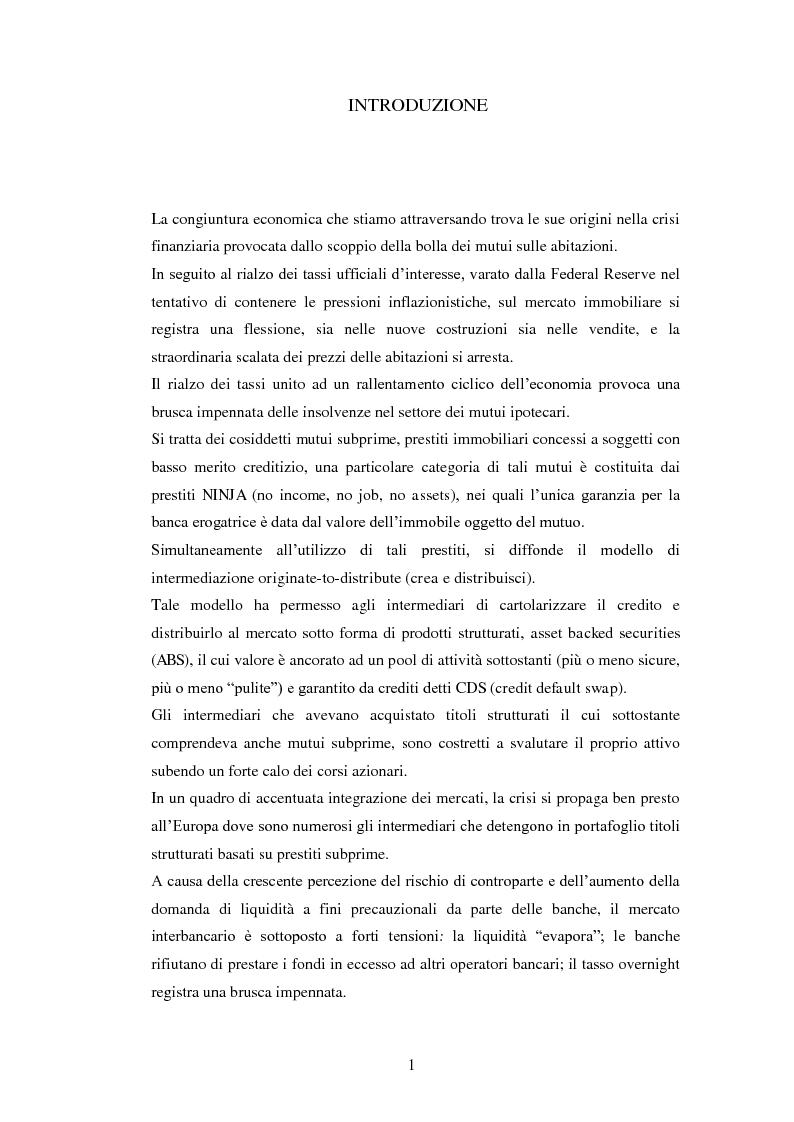 Anteprima della tesi: Il nuovo framework sul rischio di liquidità delle banche, Pagina 2