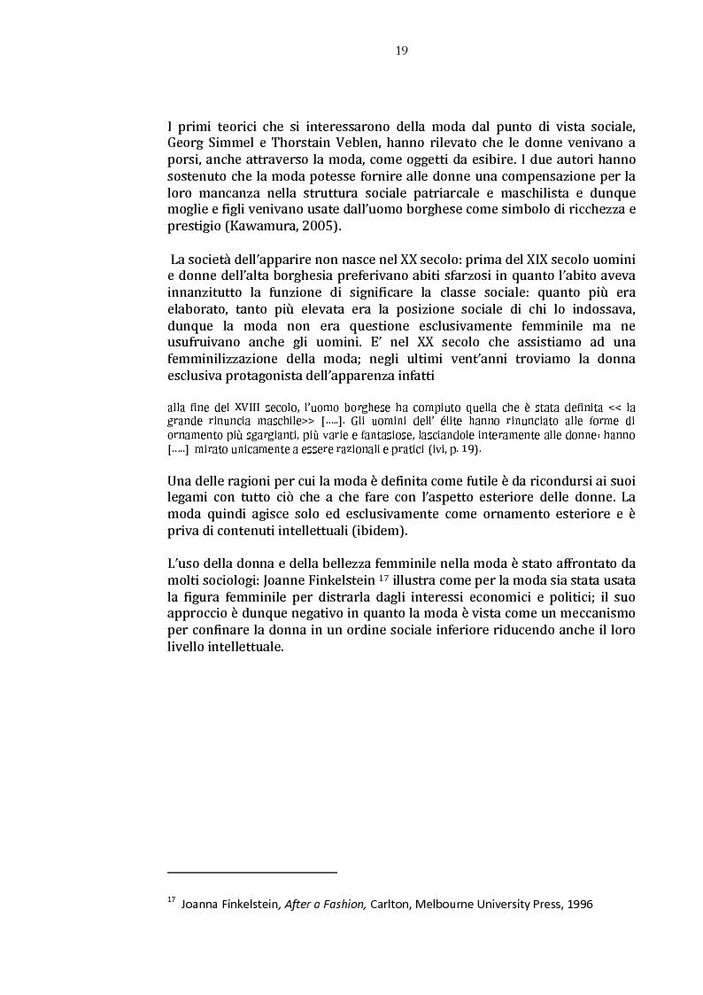 Anteprima della tesi: Danza e anoressia. L'ipotesi di Claude Lorin., Pagina 3