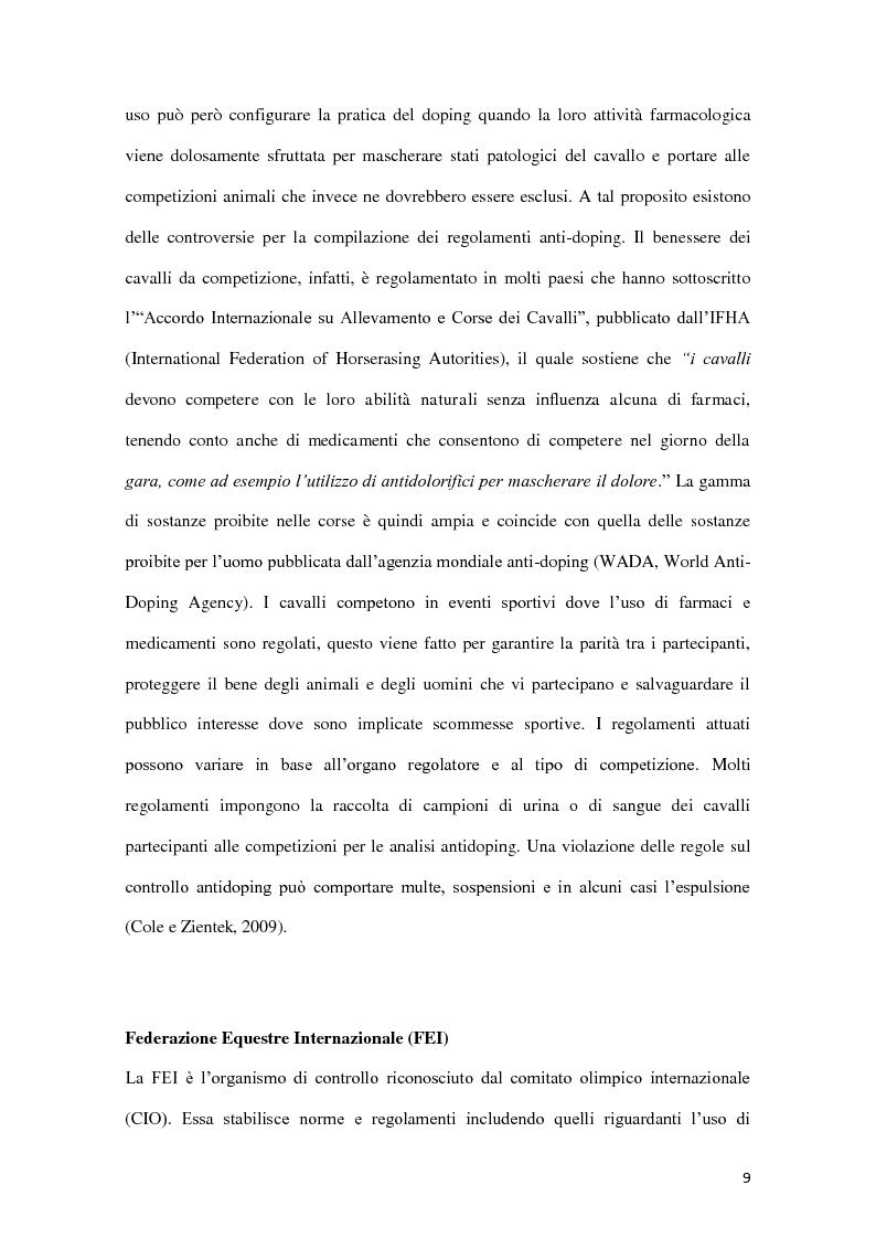 Anteprima della tesi: Determinazione quantitativa di fenilbutazone e flunixin meglumina in plasma equino tramite un sensore elettrochimico accoppiato a estrazione in fase solida con polimeri a stampo molecolare, Pagina 10
