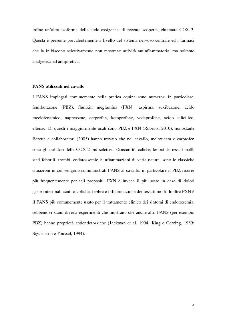 Anteprima della tesi: Determinazione quantitativa di fenilbutazone e flunixin meglumina in plasma equino tramite un sensore elettrochimico accoppiato a estrazione in fase solida con polimeri a stampo molecolare, Pagina 5