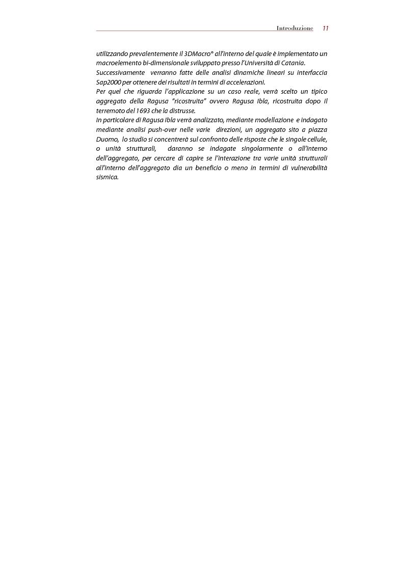 Anteprima della tesi: Analisi della risposta sismica degli aggregati storici, Pagina 4