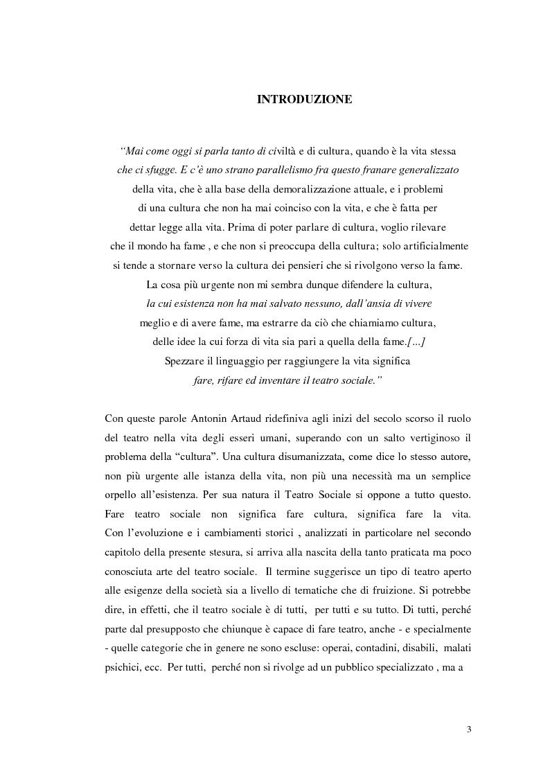 Anteprima della tesi: Le scene della vita, la vita in scena, Pagina 2