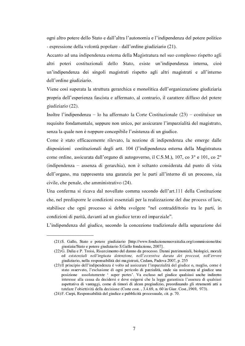 Anteprima della tesi: La responsabilità civile del magistrato e dell'arbitro, Pagina 10